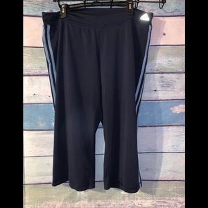 Adidas work out crop pants 2X